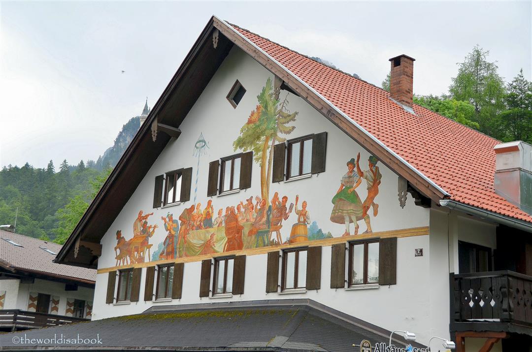 Hohenschwangau village