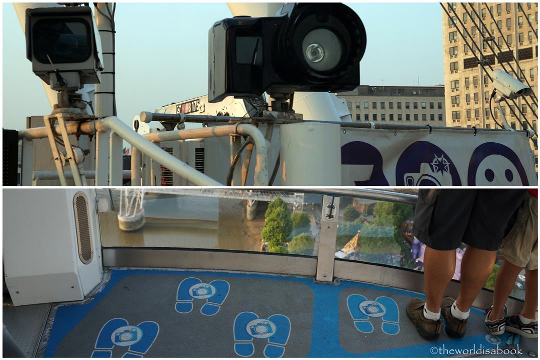 London Eye camera