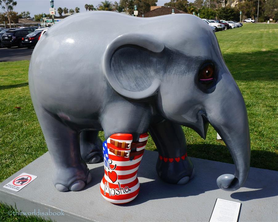 Mosha Elephant parade USA