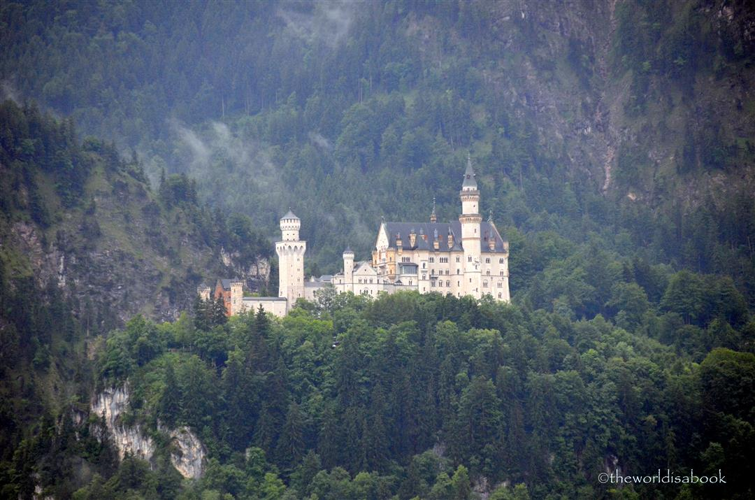 Neuschwanstein Castle hill