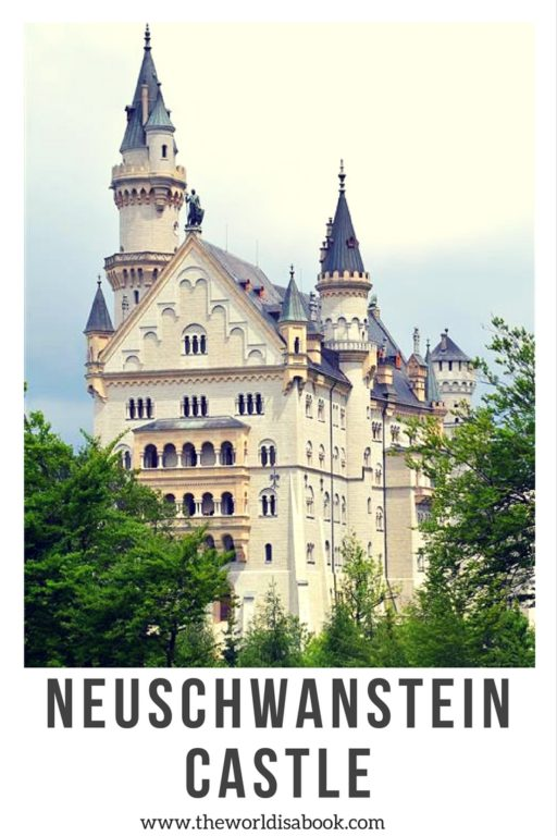 Neuschwanstein Castle with kids