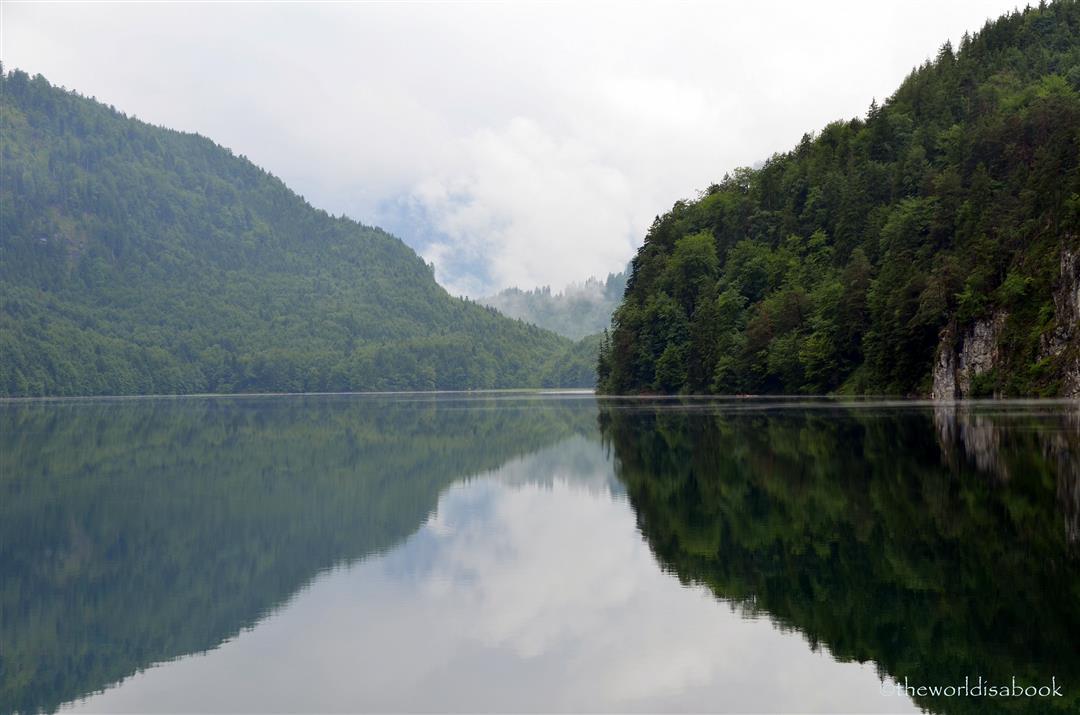 Neuschwanstein Lake Alpsee