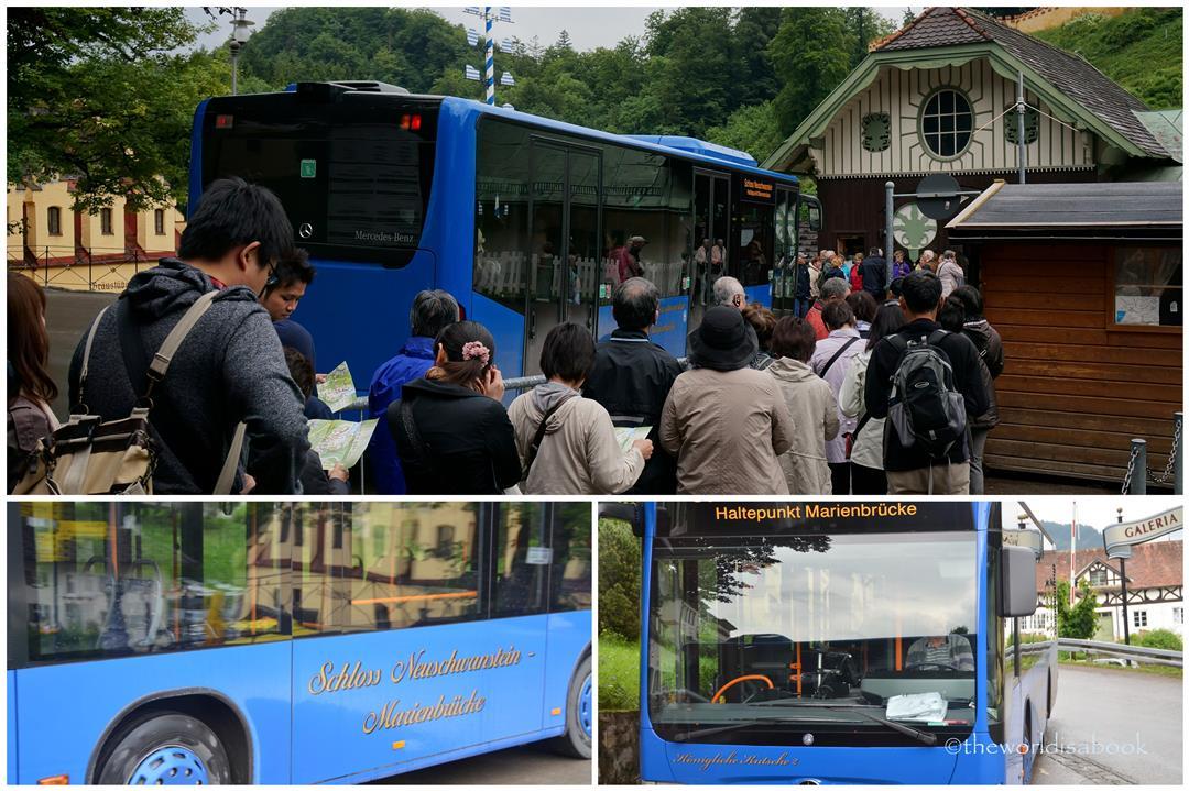 Neuschwanstein bus