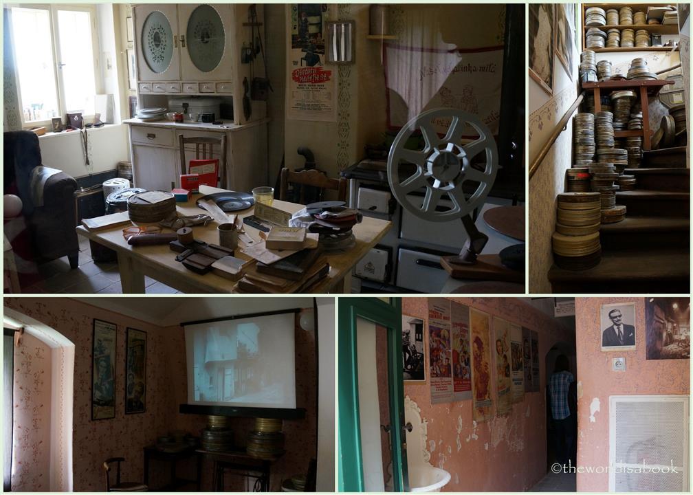 Prague Golden Lane Film house