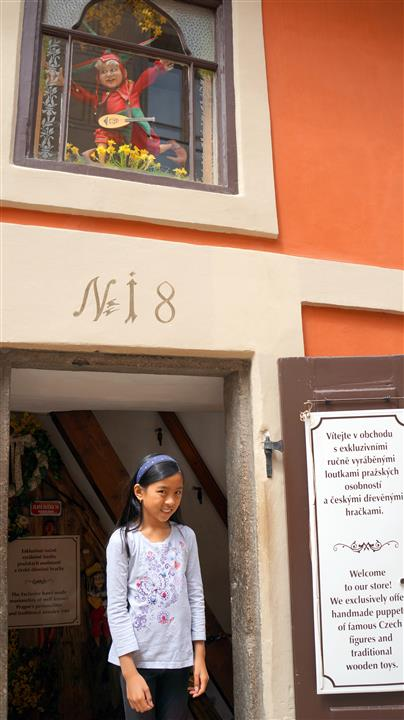 Prague Golden Lane House 18