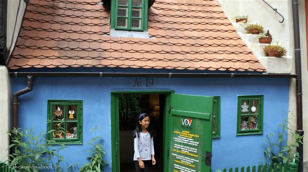 Prague Golden Lane House 19