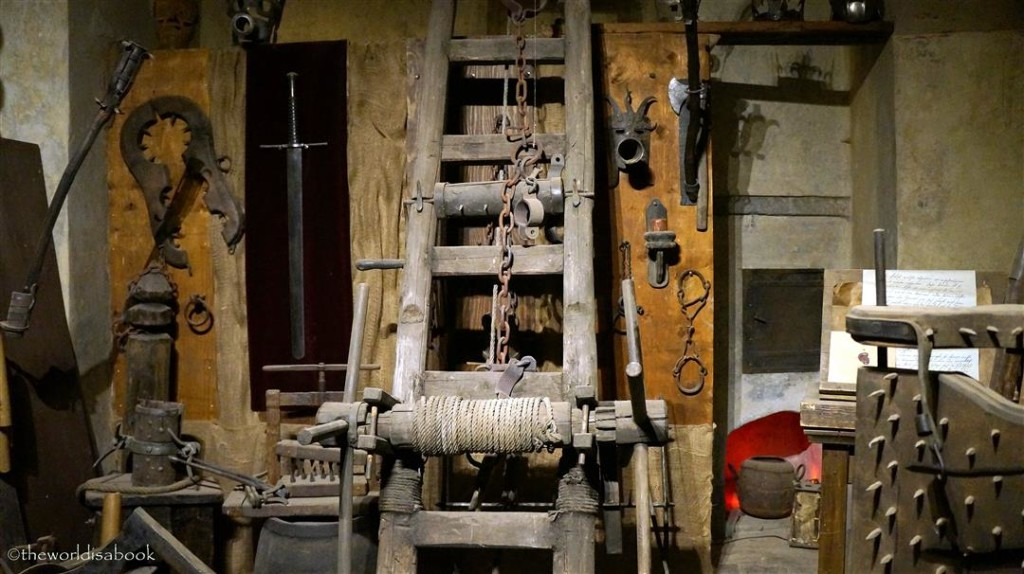 Prague Golden Lane Torture Chamber