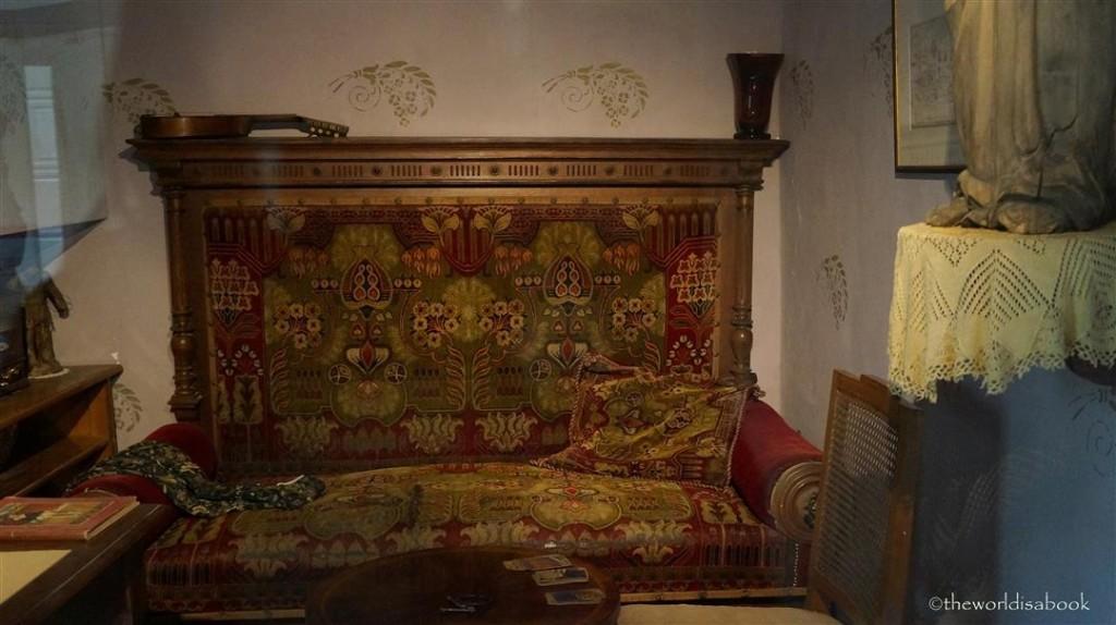 Prague Golden Lane fortune teller