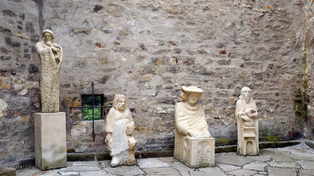 Prague Golden Lane sculptures