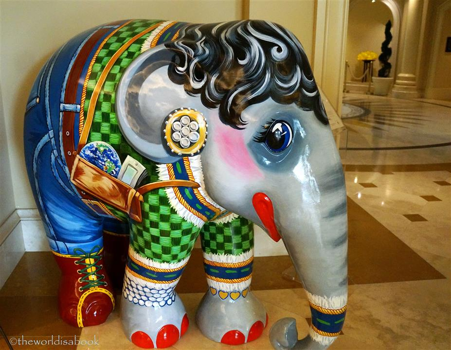 Shopping Queen Elephant Parade