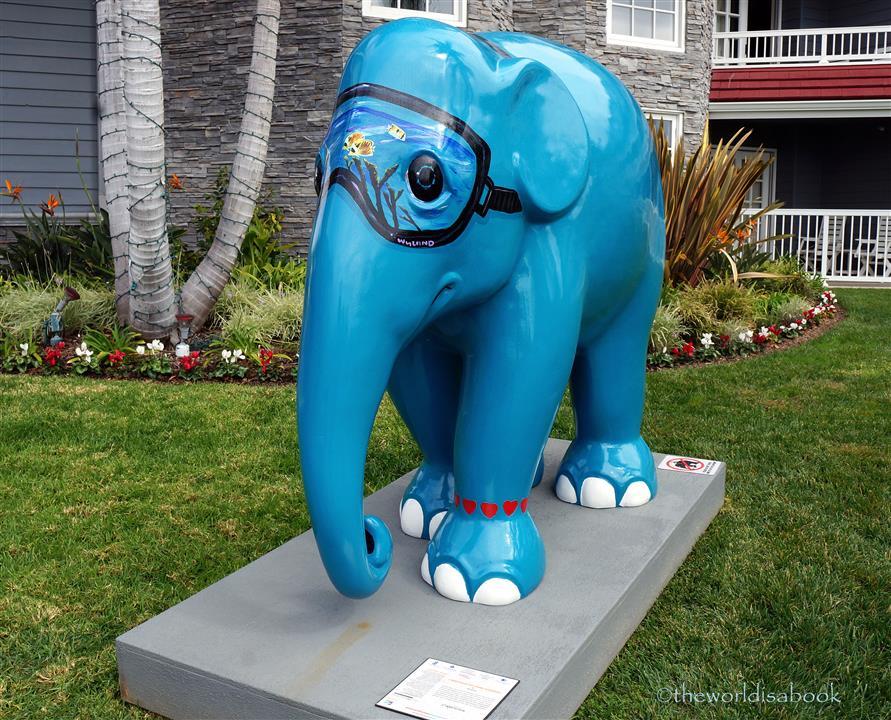 Wyland Elephant parade