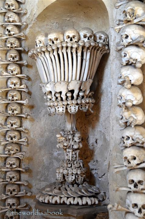 bone church decorations