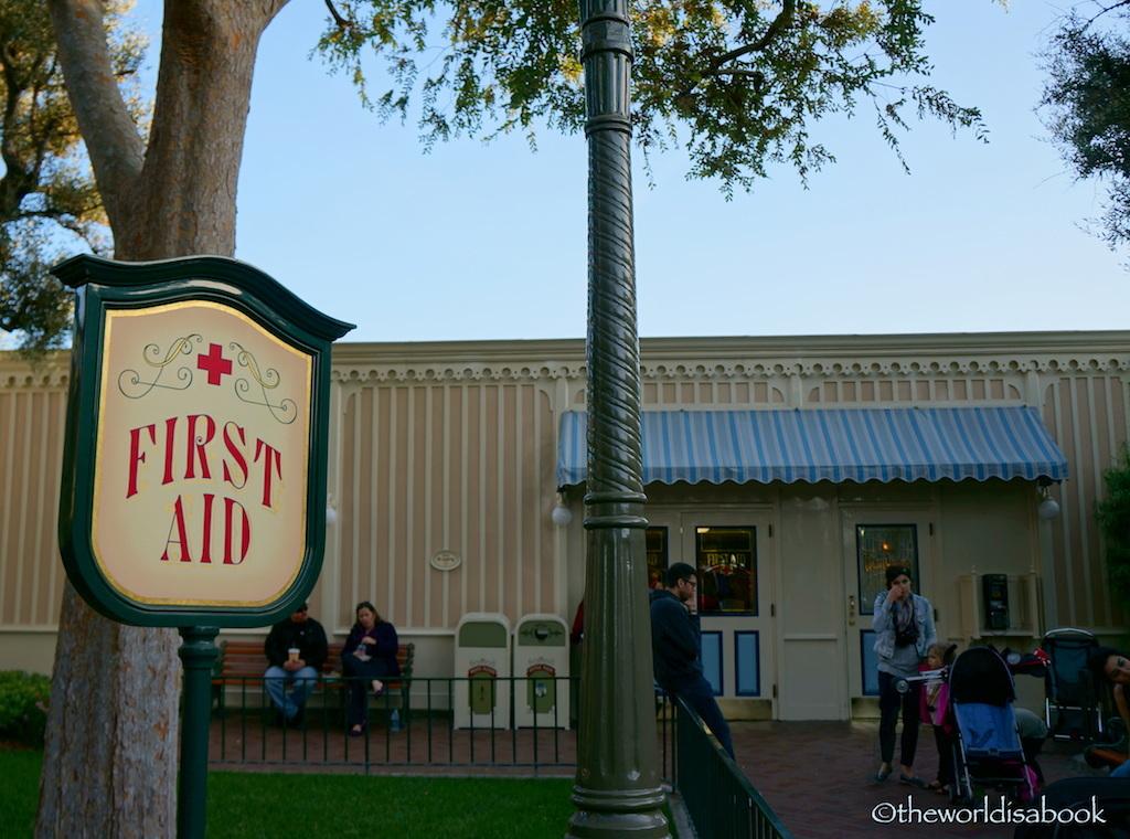First aid disneyland