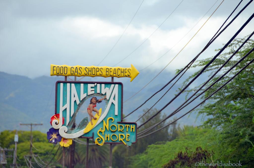 Haleiwa sign