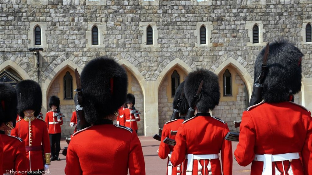 Windsor Castle Guards uniform