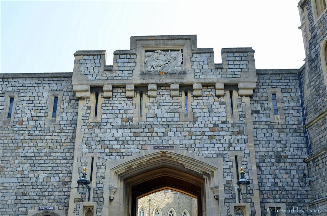 Windsor Castle St George gate