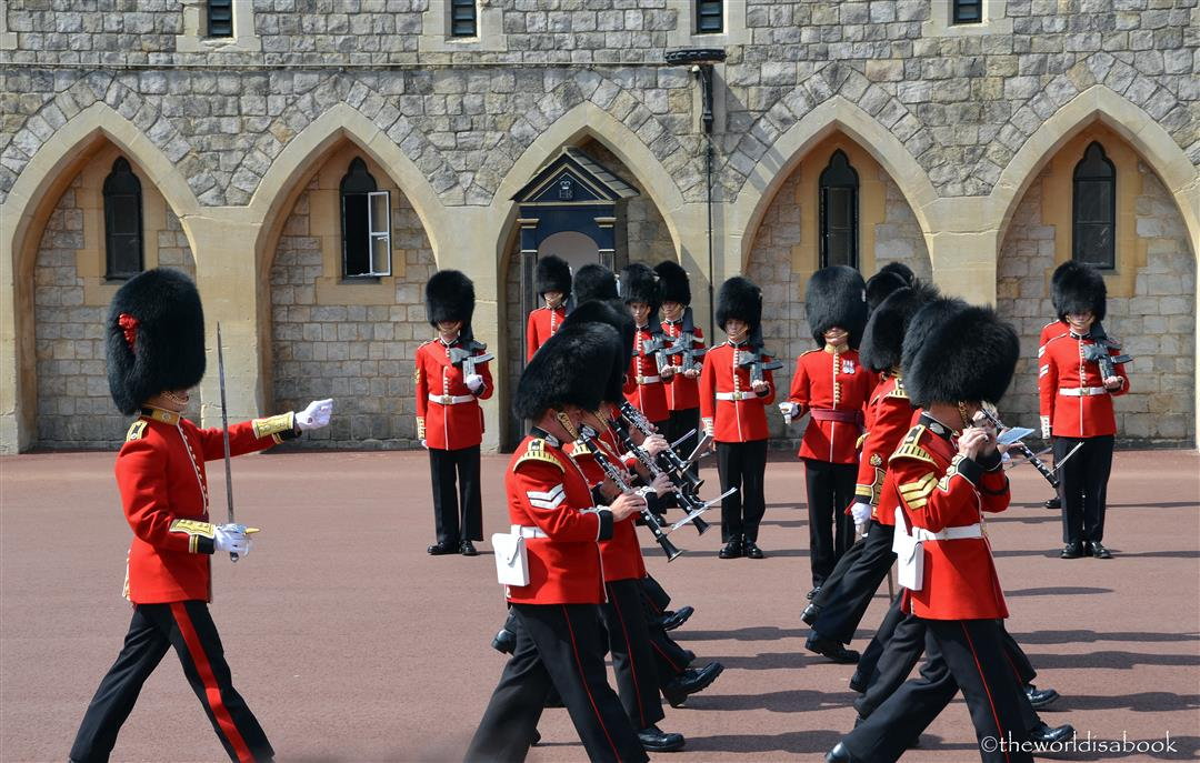 Windsor Castle guard band