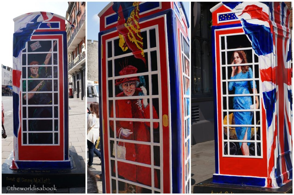 Windsor Castle phone booth