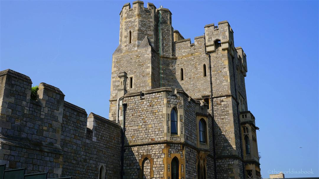 Windsor Castle towers