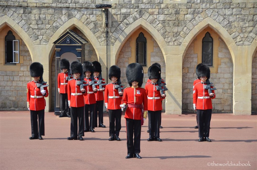 Windsor castle Changing of guards