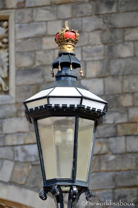 Windsoe castle lamp post