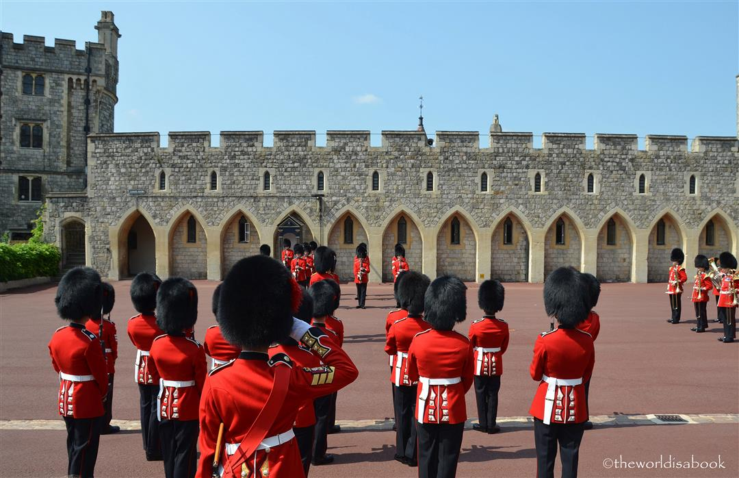 windsor castle guard ceremony