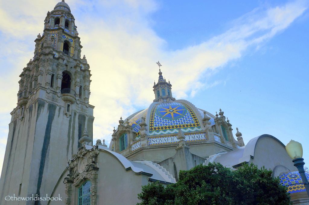 Balboa Park California Building