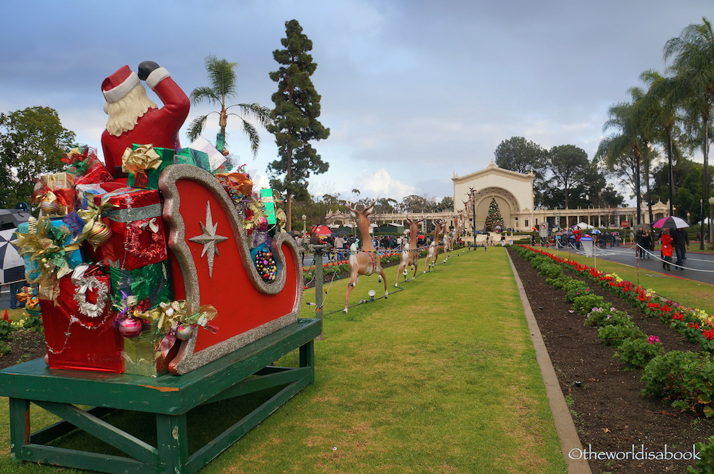 Celebrating December Nights Festival in San Diego - The World Is A ...