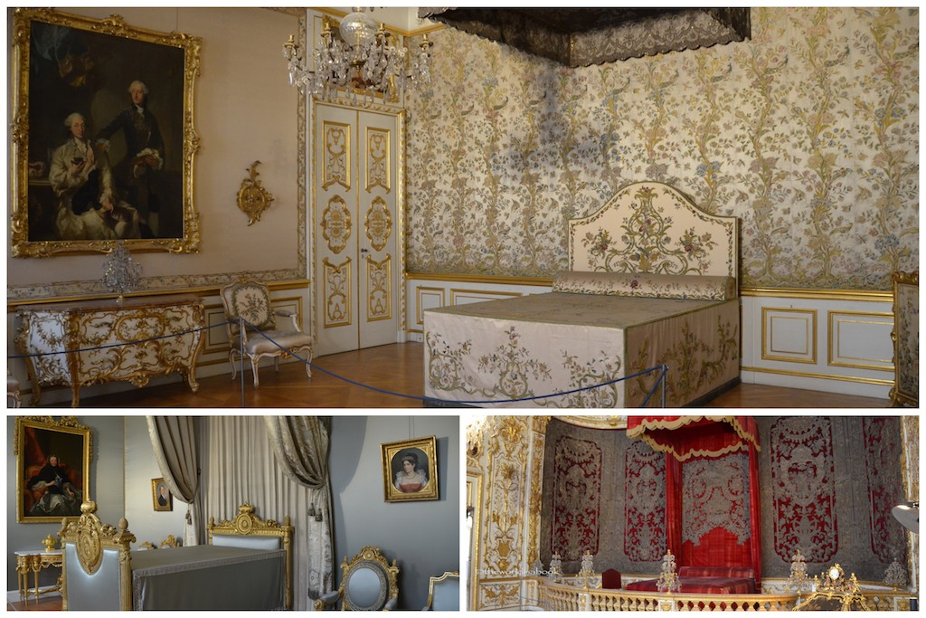 Munich Residenz bedrooms