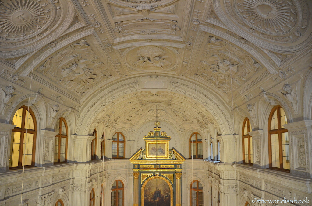 Munich Residenz chapel ceiling