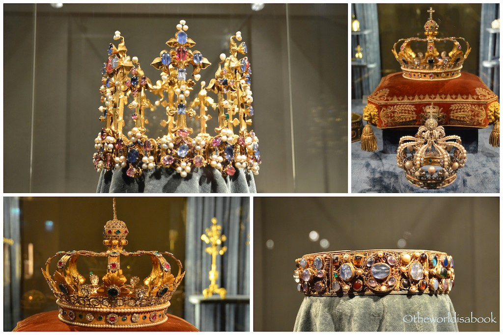 Munich Residenz crowns