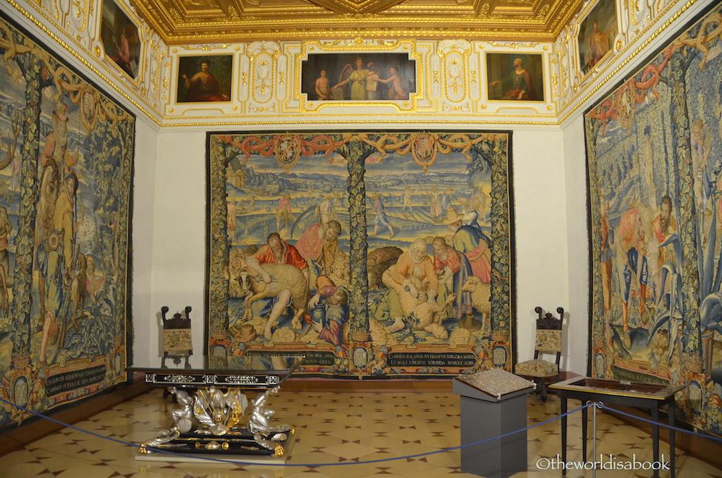 Munich Residenz tapestry
