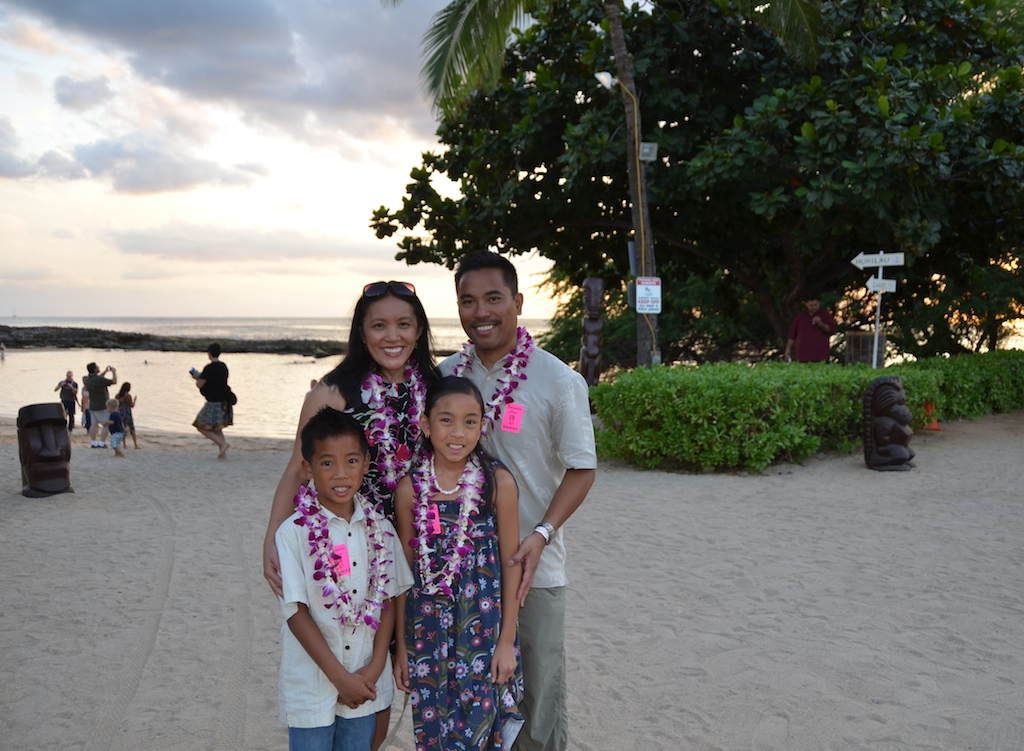 Paradise Cove family
