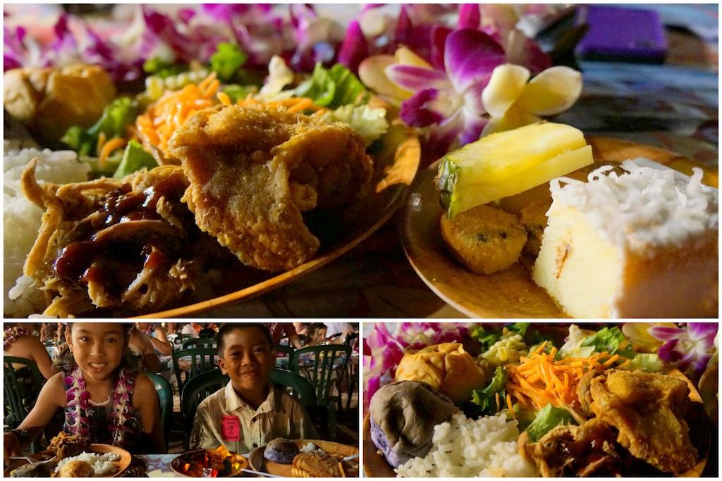 Paradise Cove food