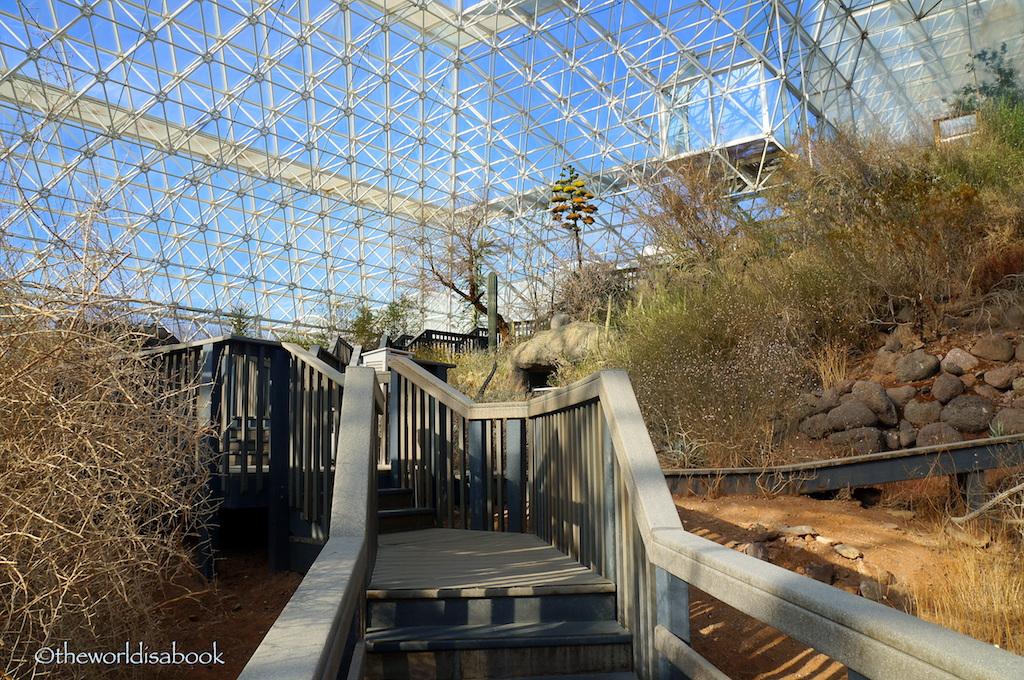 Biosphere 2 walkway