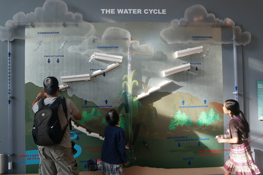 Biosphere 2 water cycle