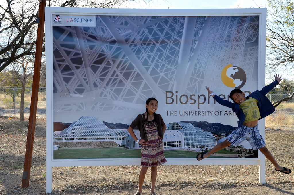 Biosphere 2 with kids