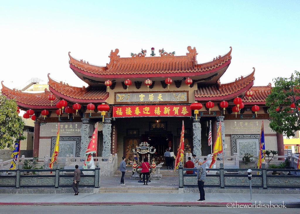 Chinatown LA temple