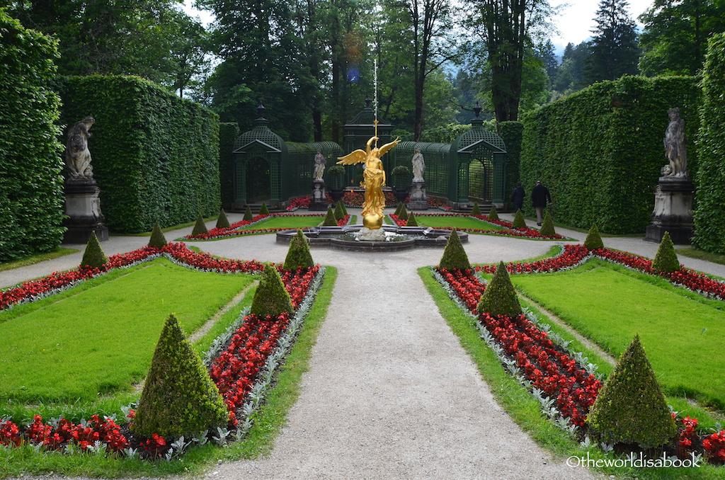 Linderhof Palace trail