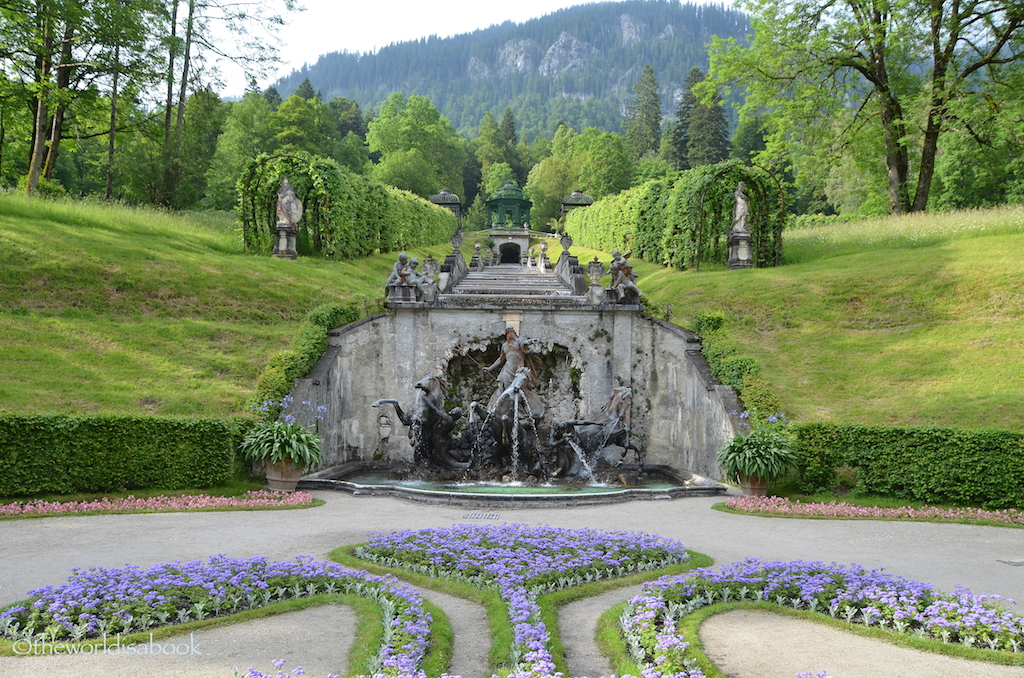 Linderhof Neptune fountain