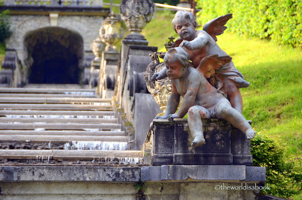 Linderhof Palace angels