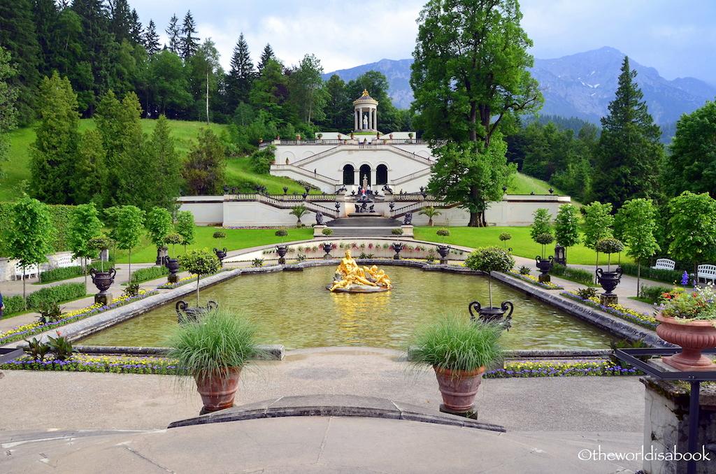 Linderhof Palace park