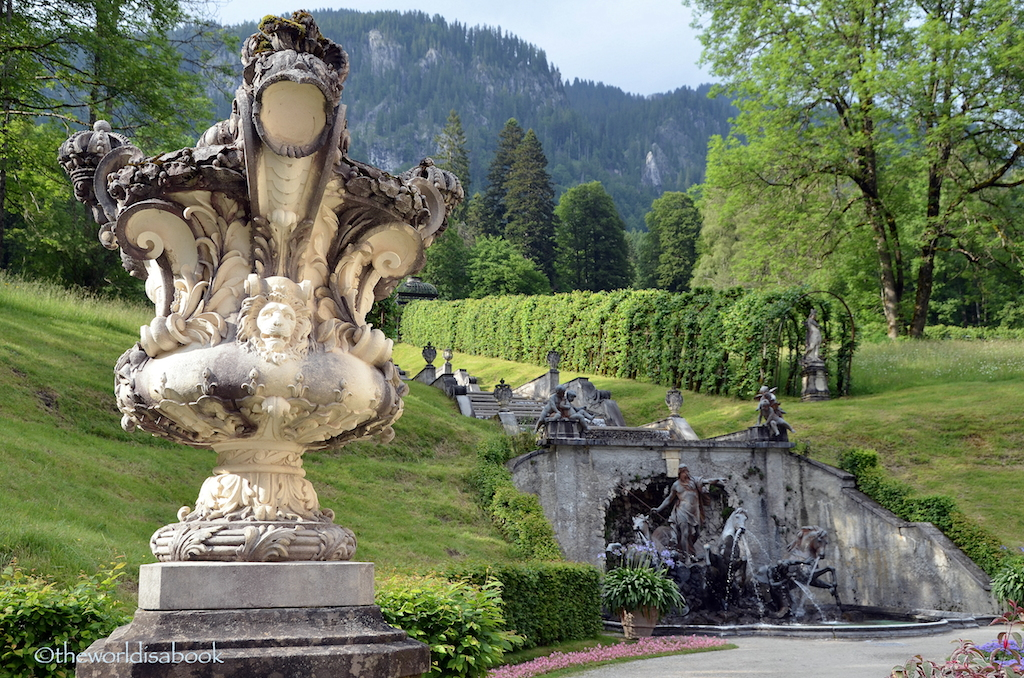 Exploring Linderhof Palace Park - The World Is A Book
