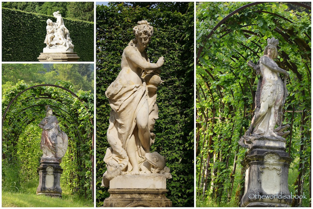 Linderhof Palace sculptures