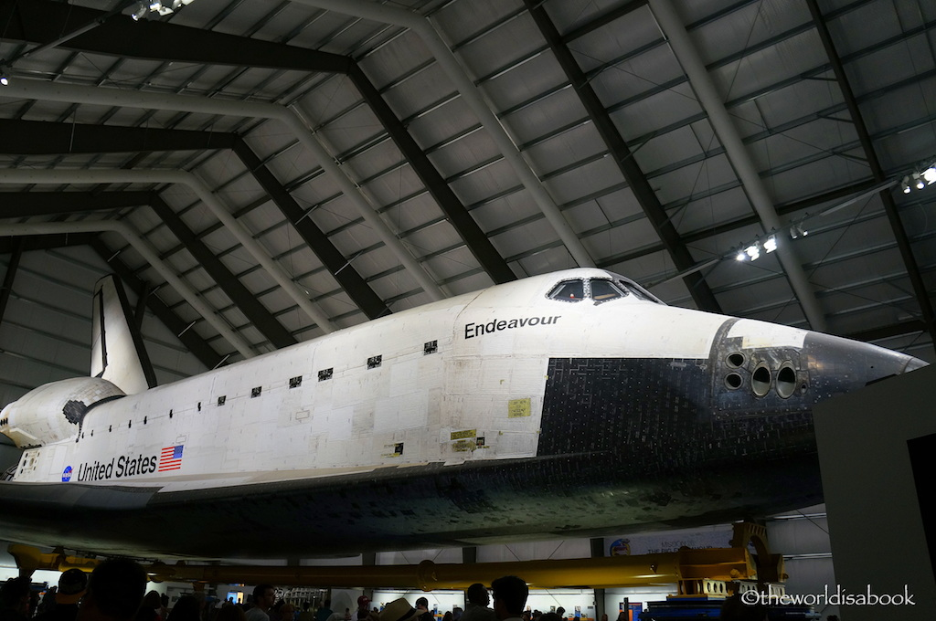 Space Shuttle Endeavor LA