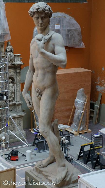 V & A Museum David