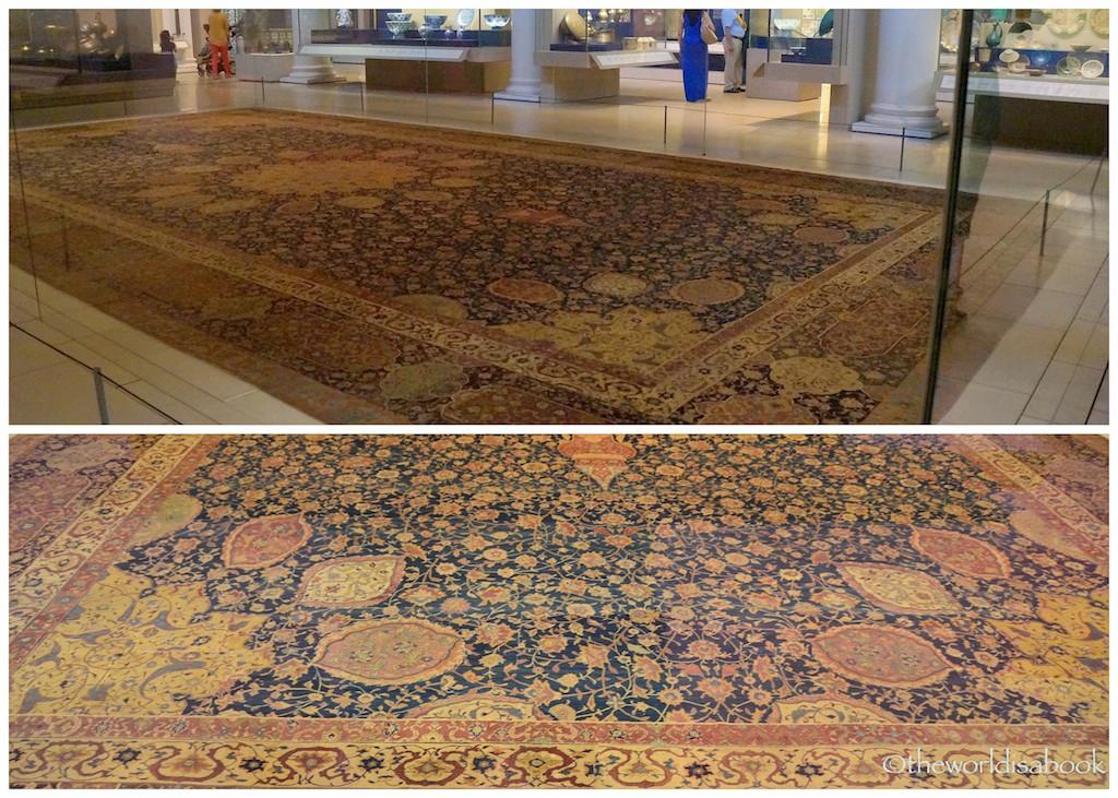 V&A Museum Ardabil Carpet