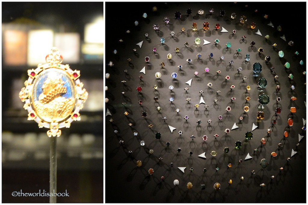 V&A Museum Jewelry Exhibit