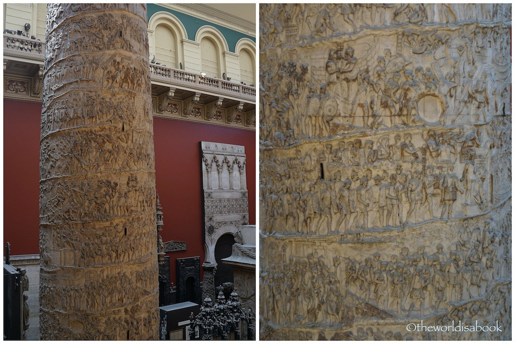 V&A Museum Trajan's column