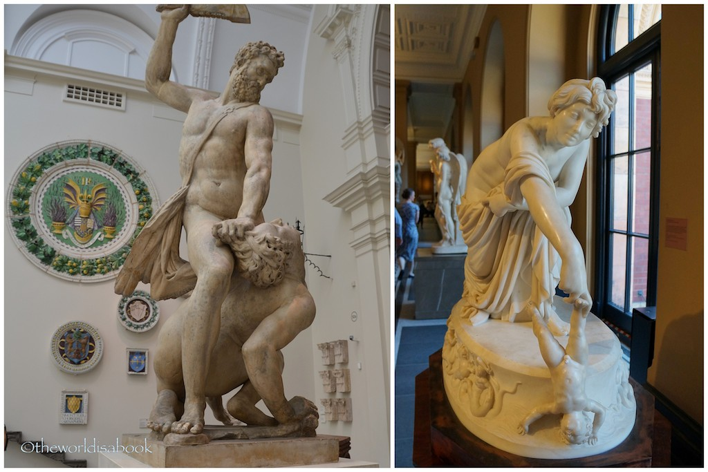 V&A Museum sculptures